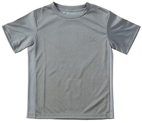 Champion Little Boys Triangle Camo T-Shirt 5 Slate grey