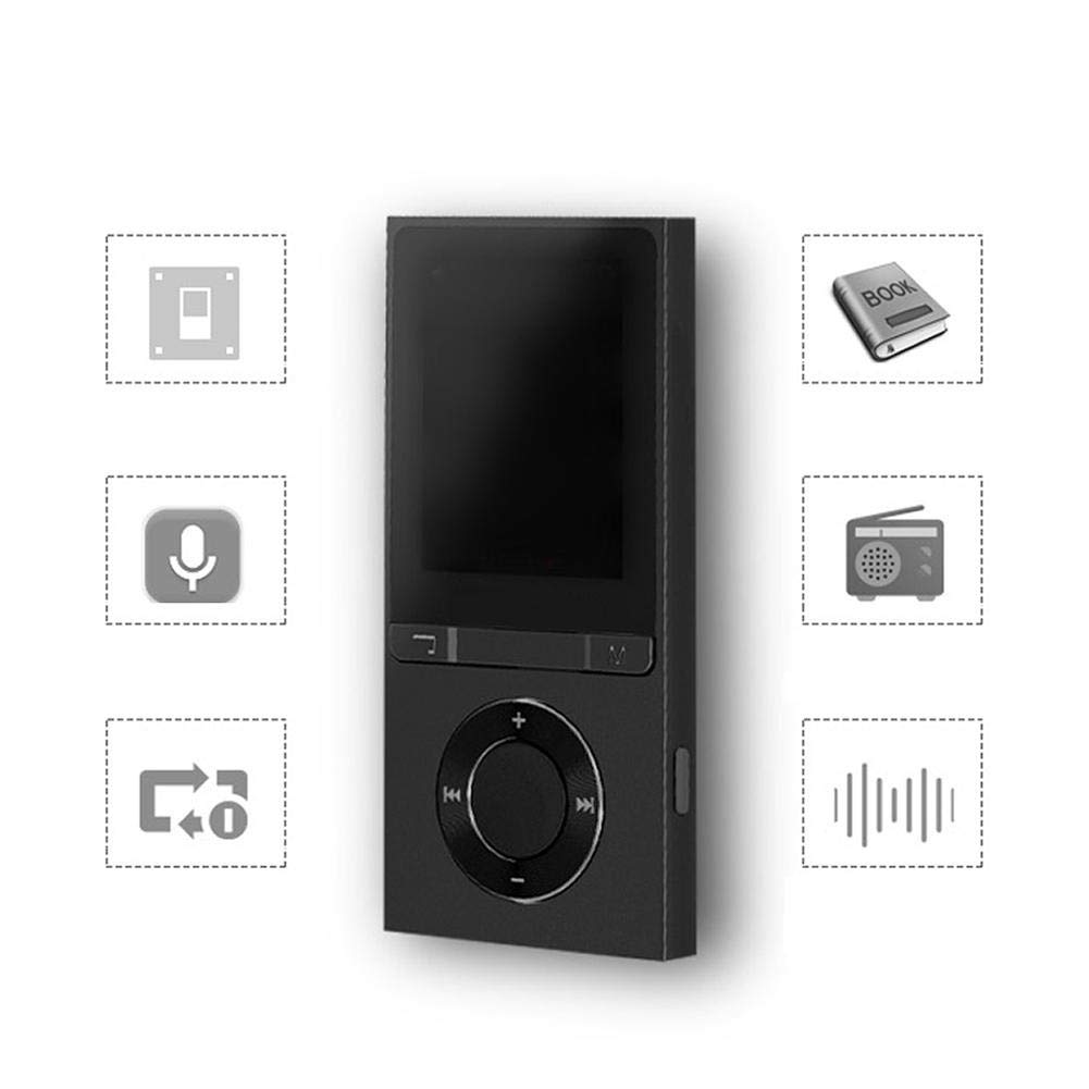 Fishlor MP3 Players, F35 Aluminium Alloy Bluetooth Portable Mini Digital Player MP3 Music Player, Portable Mini MP3 Music Player by Fishlor (Image #2)