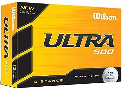 Wilson Ultra 500 Distance-12 Ball Pack