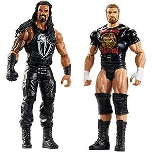 WWE Tough Talkers Roman Reigns & Triple H Figure, 2 Pack