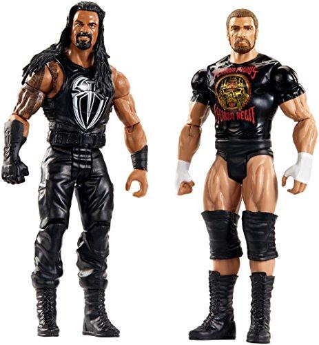 WWE Tough Talkers Roman Reigns & Triple H Figure, 2 Pack by WWE