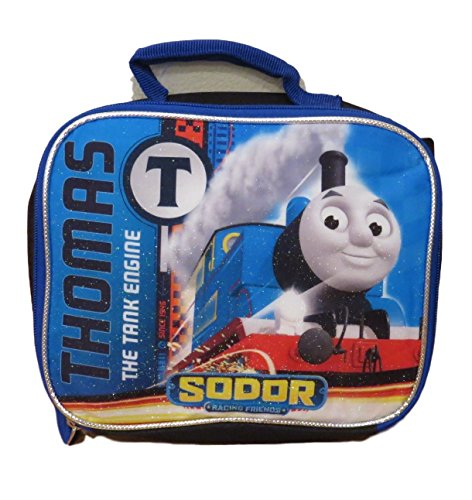Tank Engine Thomas Box - Thomas the Tank Engine Insulated Lunch Bag with Top Carrying Handle
