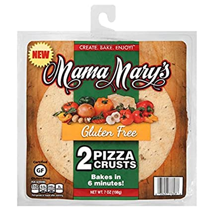 Mama Mary s sin gluten Pizza Cortezas, 7 onzas: Amazon.com ...