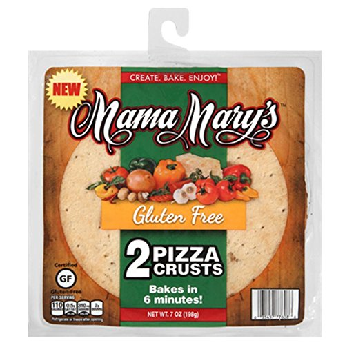 Mama Mary's Gluten Free Pizza Crusts, 7 Ounce ()