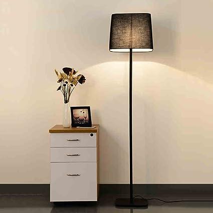 Lámpara de pie, FUFU Lámpara de piso de metal para la sala ...