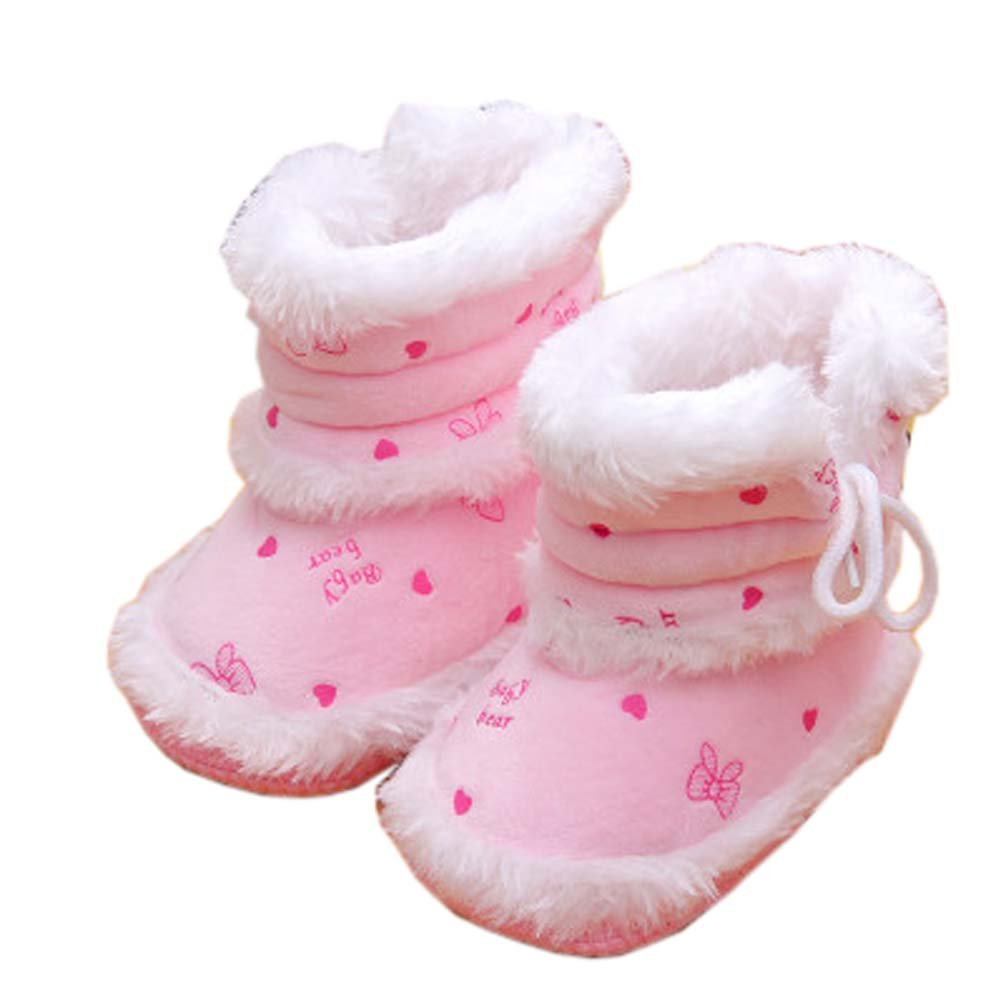Cute Newborn Baby Boy Girls Shoes Toddler Booties Infant Walking Shoes Baby Shower Gift, 20 George Jimmy