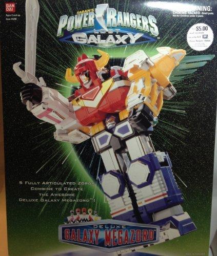 Galaxy Power Rangers (Power Rangers Lost Galaxy Deluxe Galaxy Megazord Action Figure)