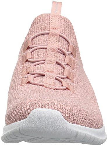 Skechers Donna Ultra Flex Sneaker Rosa Chiaro