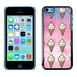 SKCASE Center / Funda Carcasa - Patrón Cielo verano dulce;;;;;;;; - iPhone 5C