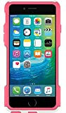 """OtterBox COMMUTER SERIES Case for iPhone 6 Plus/6s Plus (5.5"""" Version) - Retail Packaging - NEON ROSE (WHISPER WHITE/BLAZE PINK)"""