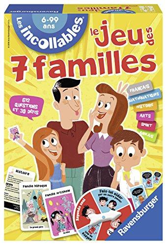 Price comparison product image Ravensburger - Jeu des 7 Familles des Incollables