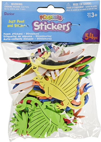 Darice Foam Stickers 54/Pkg-Dinosaurs