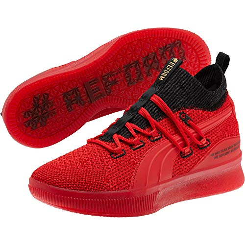 PUMA Men's Clyde Court Reform Meek Mill Sneaker, High Risk Red, 8.5 M US (Puma Shoes Sneakers Men)