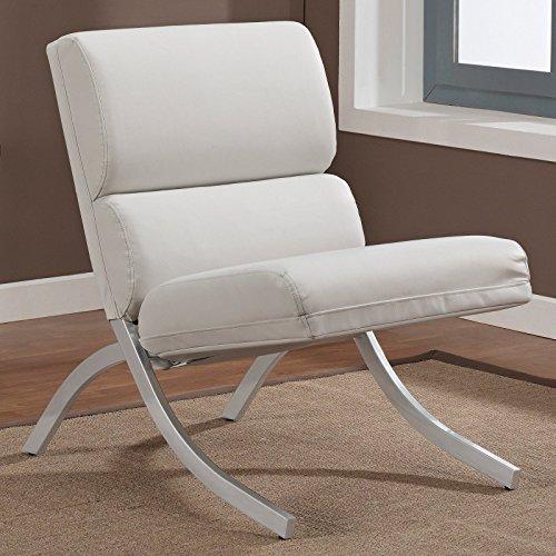 Metro Shop Rialto Bonded Leather White Chair