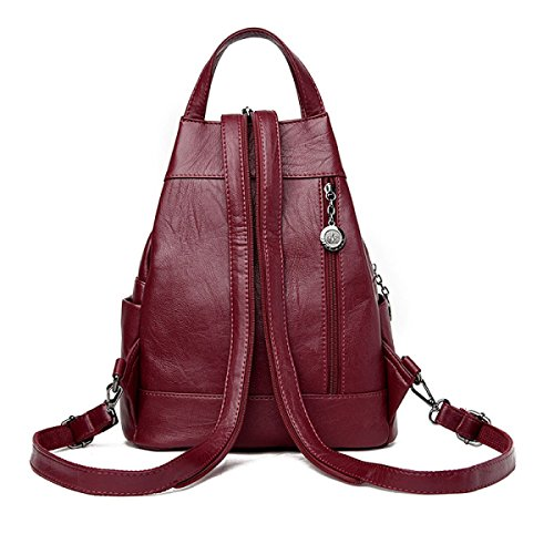 Women Tote Bags Purple Shoulder Bag Elegant Black Messenger Bag Ladies Vintage Handbag WZFaqap1