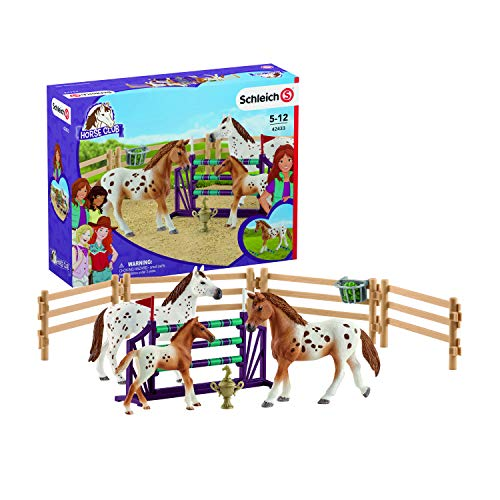Schleich Horse Club Lisa's Tournament Training, Multicolor for sale  Delivered anywhere in USA