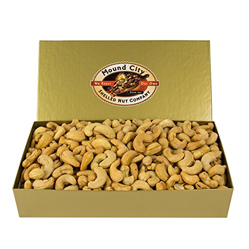 Extra Fancy Deluxe Mixed Nuts in 1.25 lb. Gold Foil wrapped Box with Bow Certified Kosher