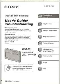 sony cyber shot dsc rx100 ii instruction manual