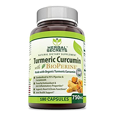 Herbal-Secrets-Turmeric-Curcumin-BioPerine-750-mg-180-Veggie-Capsule-Organic