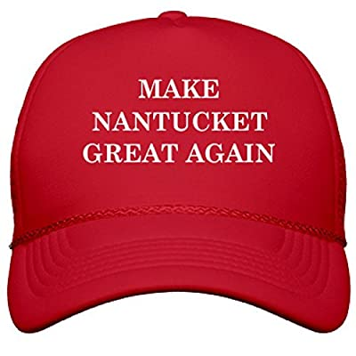 Make Nantucket Great Again: OTTO Poly-Foam Snapback Trucker Hat