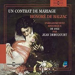 Un contrat de Mariage : enregistrement historique de 1954
