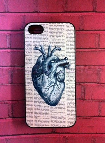 Anatomy heart Iphone 5 Case - For Iphone 5, iPhone 5 cover