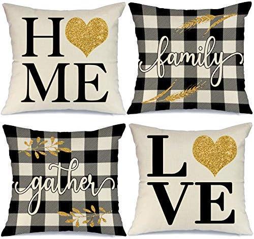 fall farmhouse decor farmhouse pillow pillow covers 16x16 fall pillows rustic pillow throw pillow covers welcome decor pillow cover