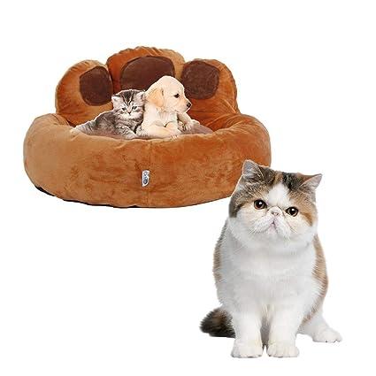 cuckoo-X - Almohadilla para Mascota, diseño de Gato de Cachorro en Forma de