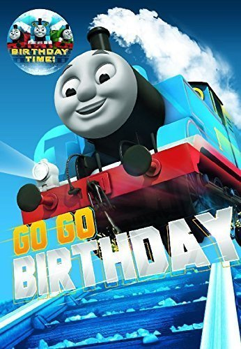 Thomas & Friends Thomas The Tank Engine Badge Birthday Card (Badge Thomas Tank)