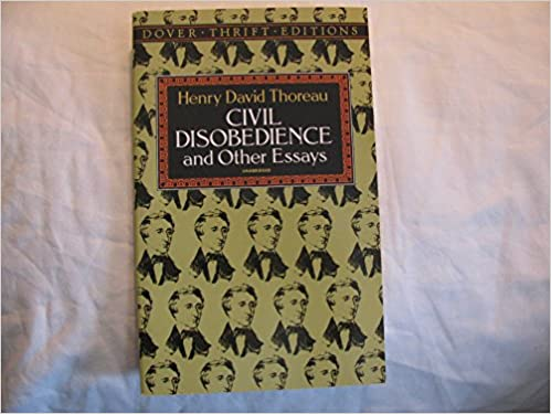 civil disobedience and other essays publisher dover publications  civil disobedience and other essays publisher dover publications henry david thoreau amazon com books