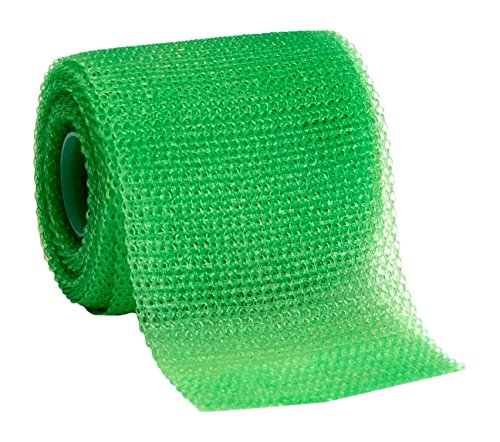 3M Scotchcast 82002V Plus Casting Tape, Bright Green 2'' x 4 Yard (Pack of 10) by 3M (Image #1)