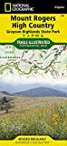 Mount Rogers High Country (National Geographic Trails Illustrated Map)