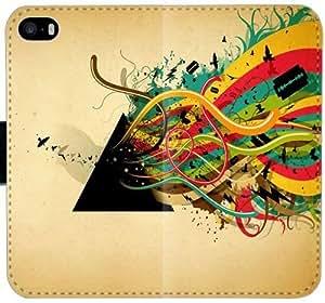 Pink Floyd L7M2R Funda iPhone Caso 6 6S 4.7 Cartera de cuero funda EH23m4 móvil del caso del tirón del teléfono fundas Uk