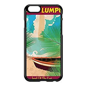 Kuala Lumpur Black Hard Plastic Case for iPhone 6 by Nick Greenaway + FREE Crystal Clear Screen Protector