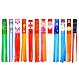 Trademark Innovations Windsock 60-Inch Seasonal Theme Windsocks-Set of 12-Blows in The Wind