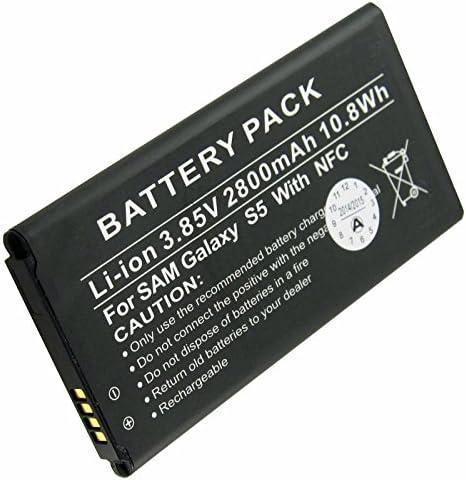 AccuCell Batterie pour Samsung Galaxy S5 2800 mAh avec NFC