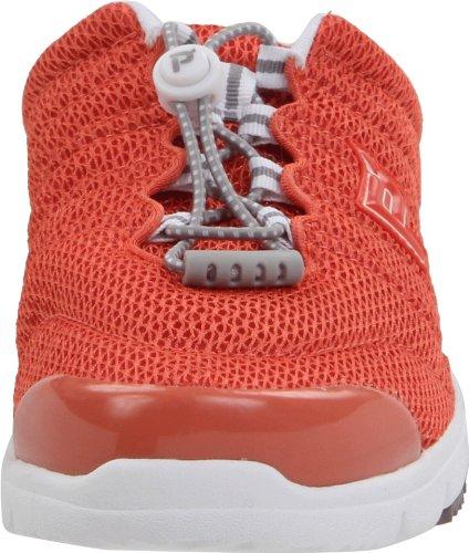 Propet Vrouwen Travelwalker Slide Shoe Coral Mesh