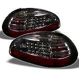pontiac grand prix brake light - Ponitac Grand Prix 2 Door 4 Door Rear LED Tail Lights Signal Brake Lamps Pair Smoked Lens