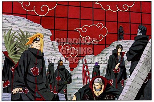 CGC Huge Poster - Naruto Shippuden - Akatsuki - NAR036