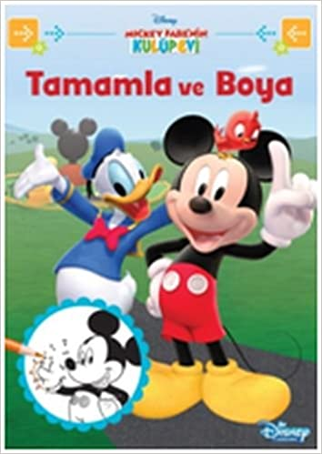 Disney Mickey Fare Nin Kulup Evi Tamamla Ve Boya Collective