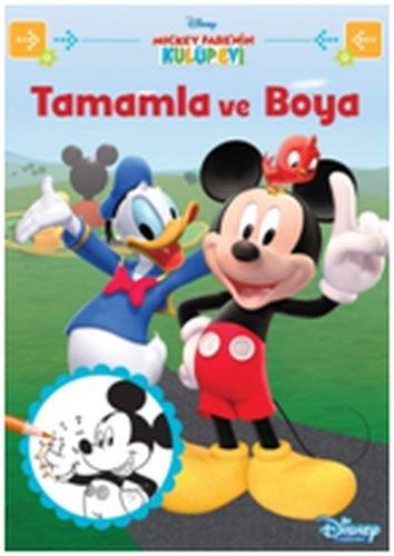 Disney Mickey Fare Nin Kulup Evi Tamamla Ve Boya Collective