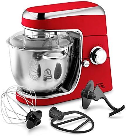 Rotel AG PowerMix 443 1200W 4L Cromo, Rojo - Robot de cocina (4 L ...