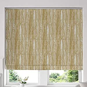 Blinds2Curtains Yellow 120H x 160W cm Window Blinds