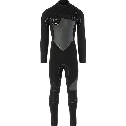 cc8450dd2d Quiksilver 4/3mm Syncro Plus Chest Zip Men's Full Wetsuits - Black/Black/