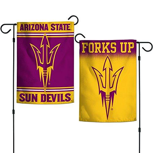 Elite Fan Shop Arizona State Sun Devils Garden Flag 12.5