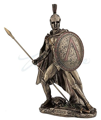 Amazon com: Leonidas Spartan King Unleashed With Spear & Shield