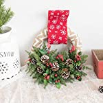 Wreaths-Wreath-Front-Door-Wreaths-Christmas-Decoration-Wreath-Home-Decoration-Supplies-Flowers-Garland-for-Home-Decoration-Supplies-Wall-Mounted-Color-Green-Size-2848cm