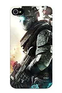 42607a03563 New Premium Flip Case Cover Tom Clancys Ghost Recon - Future Soldier Skin Case For Iphone 4/4s As Christmas's Gift