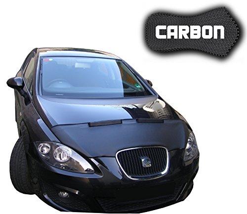 Black Bull Seat Leon 2 CARBON Protector del Capot Front End Cover Car Bra Bonnet Hood Tuning Coche Máscara NUEVO