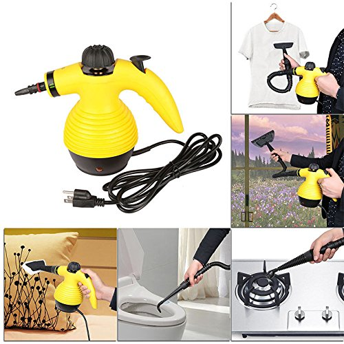Steam Cleaner 1050W Handheld New Portable Multi (Phoenix Stair Kit)